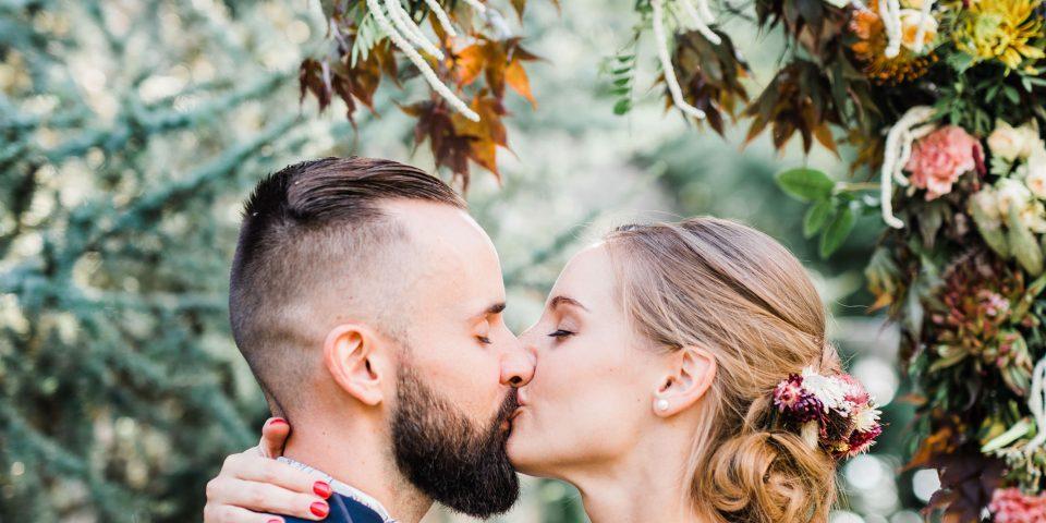 Décoration florale mariage automne